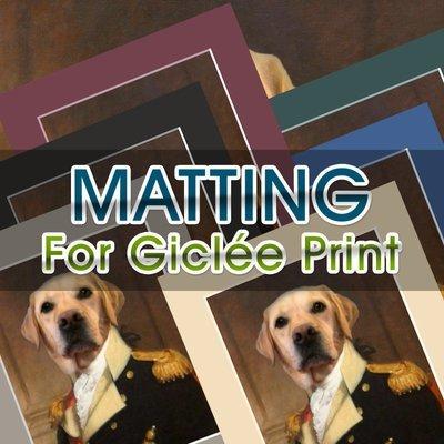 Mat Add-On For Giclée Print