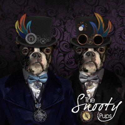 Steampunk Dog Portrait