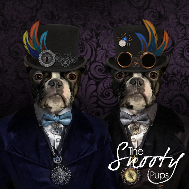 Steampunk Dog Portrait