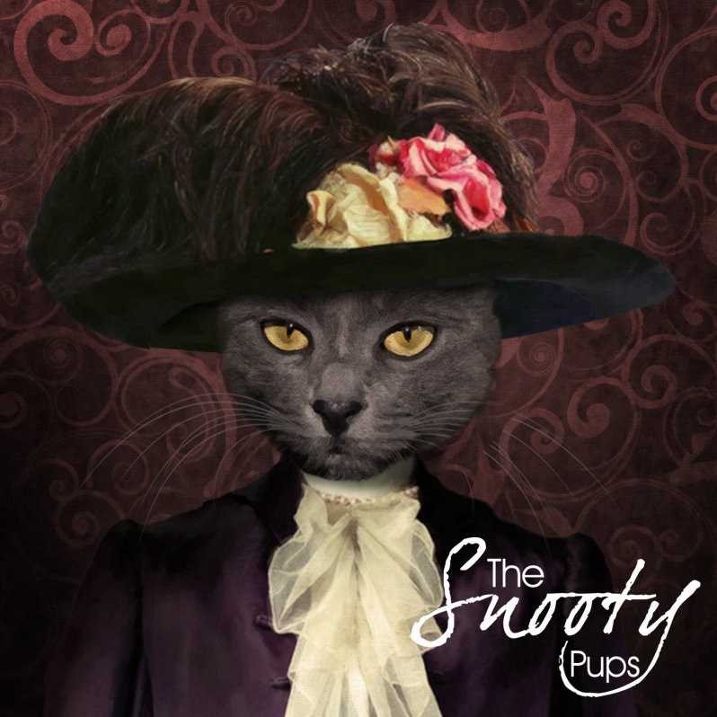Custom Cat Portrait - Victorian Lady