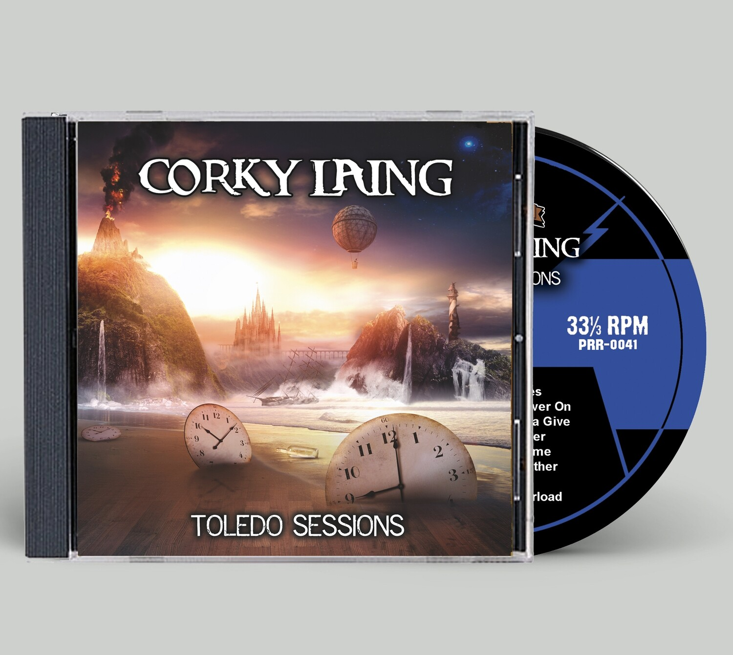 "Corky Laing ""The Toledo Sessions"" -- CD"