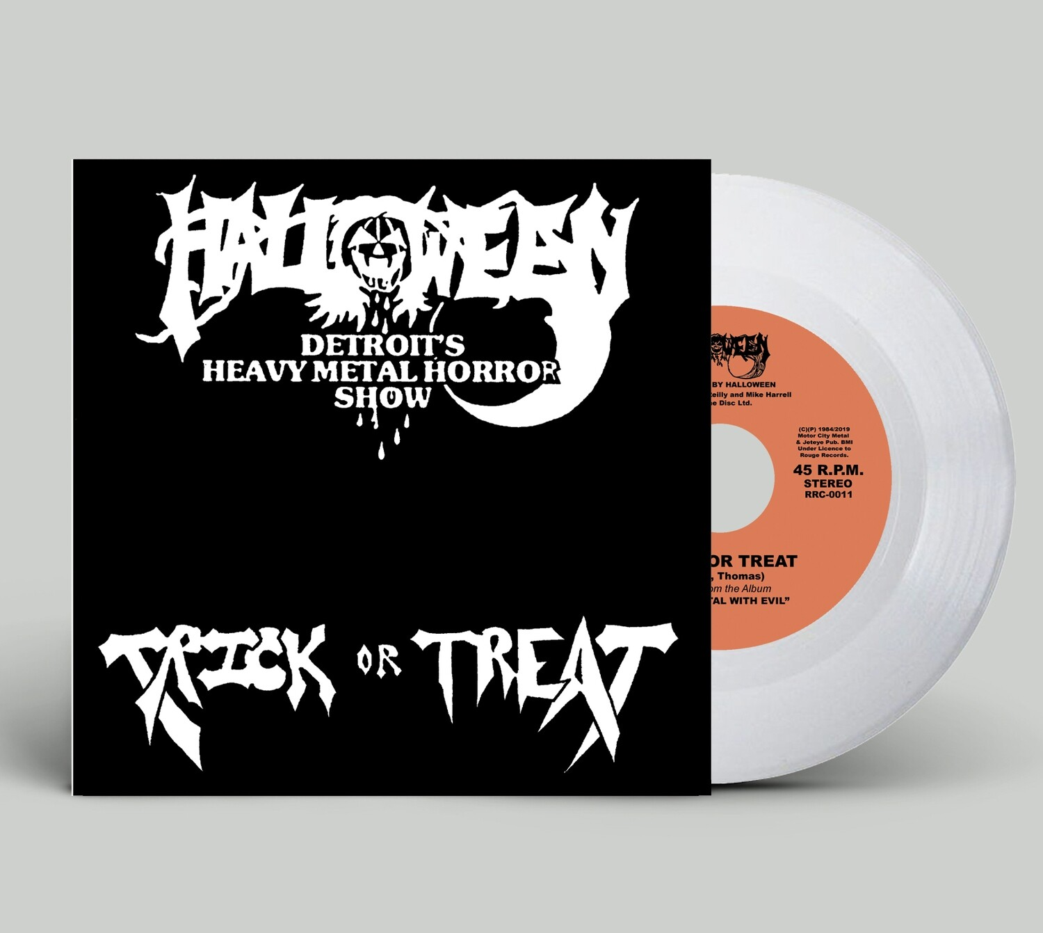 "Halloween - ""Trick or Treat/She's A Teazer"" (7"" Limited Edition White Vinyl)"