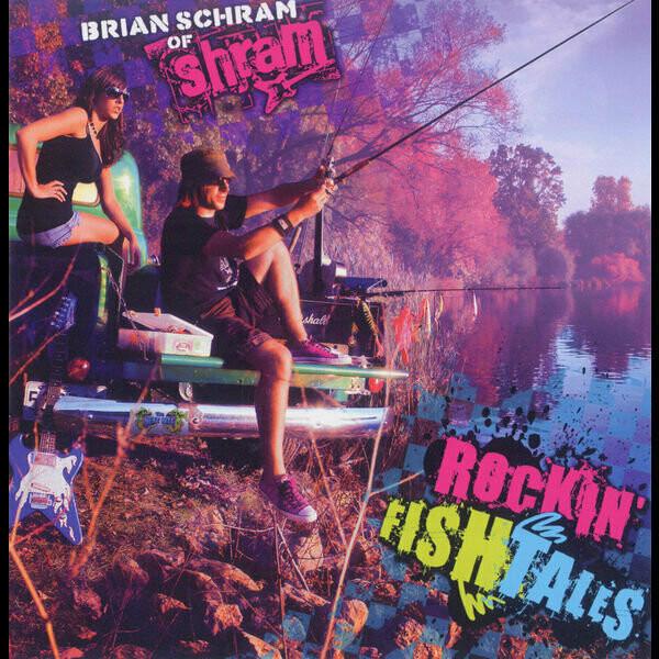 """Brian Schram """"Rockin' Fish Tales"""" - CD"""
