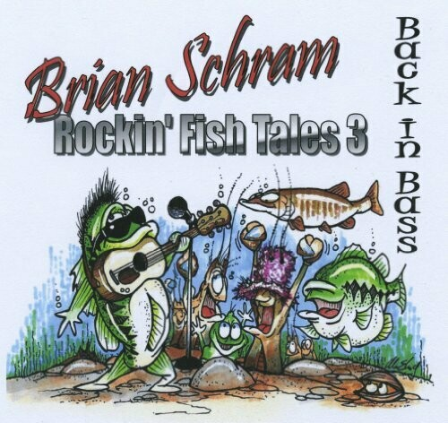 """Brian Schram """"Rockin' Fish Tales 3"""" - CD"""