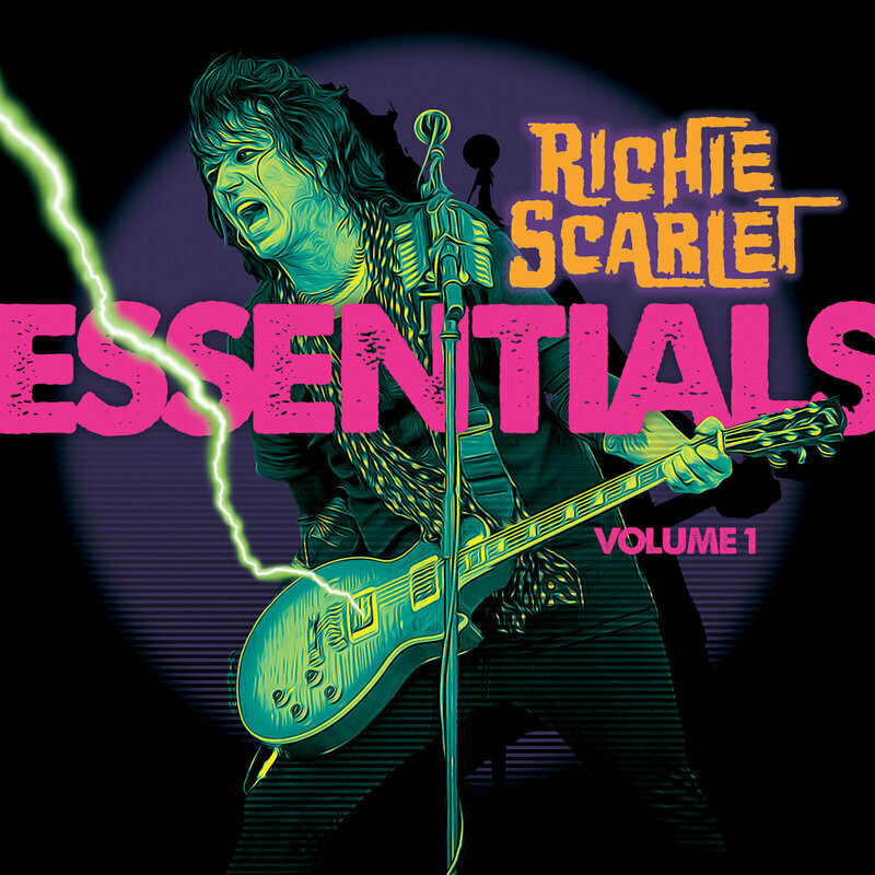 """Richie Scarlet """"Essentials VOL 1"""" - CD"""