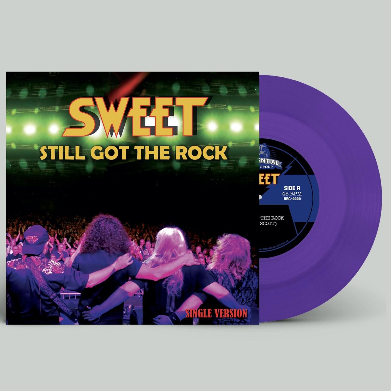 """Sweet """"Still Got The Rock/Fox On The Run (2020)"""" - (7"""" Purple Vinyl)"""