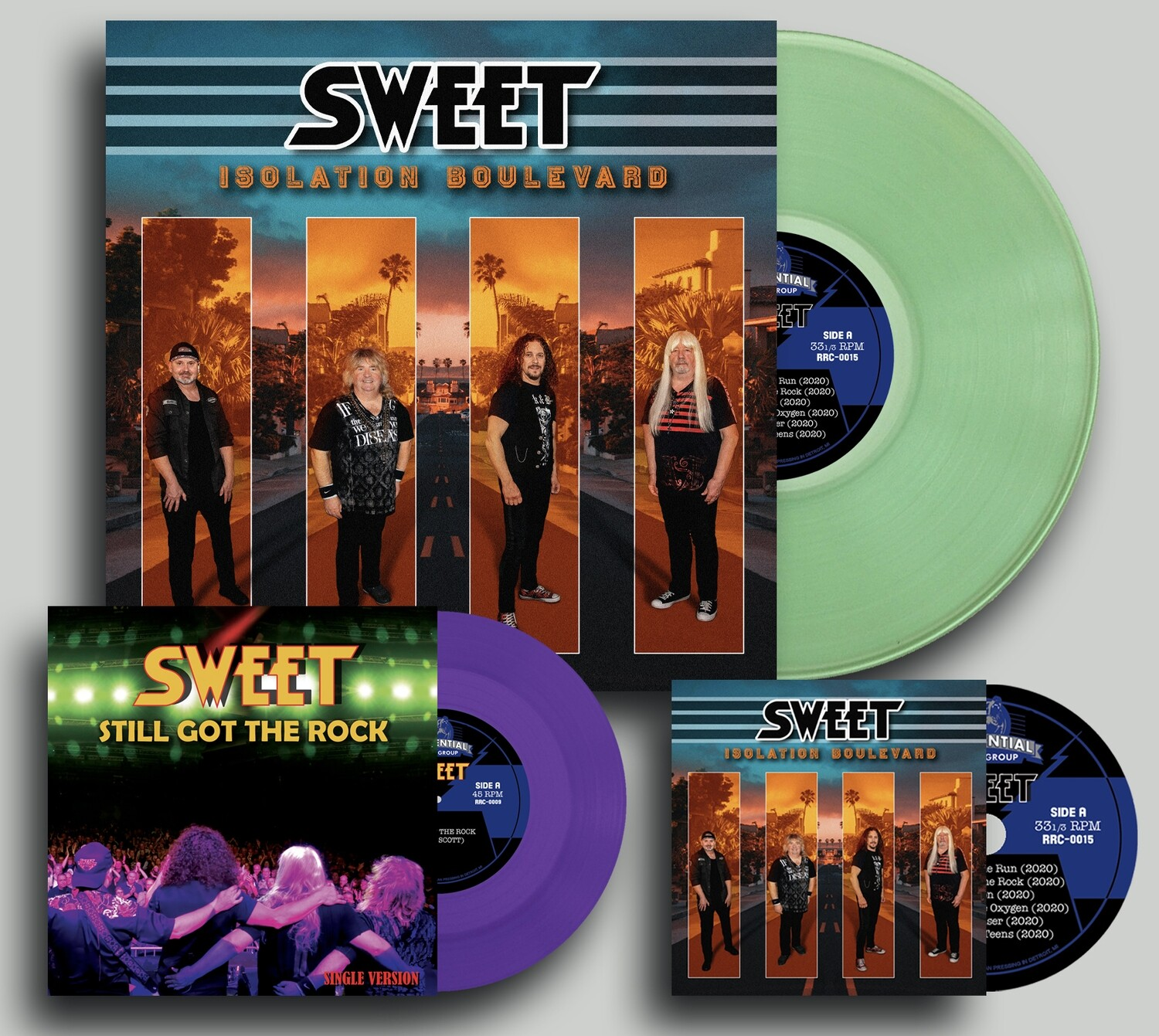 Sweet Isolation Boulevard Vinyl & CD Bundle