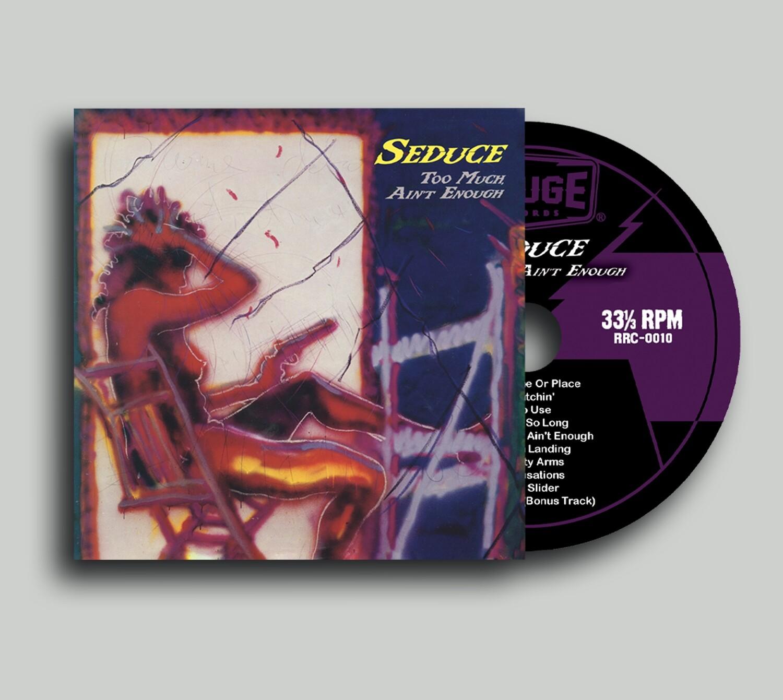 """Seduce """"Too Much Ain't Enough"""" - """"Mini LP"""" CD (Limited Edition)"""