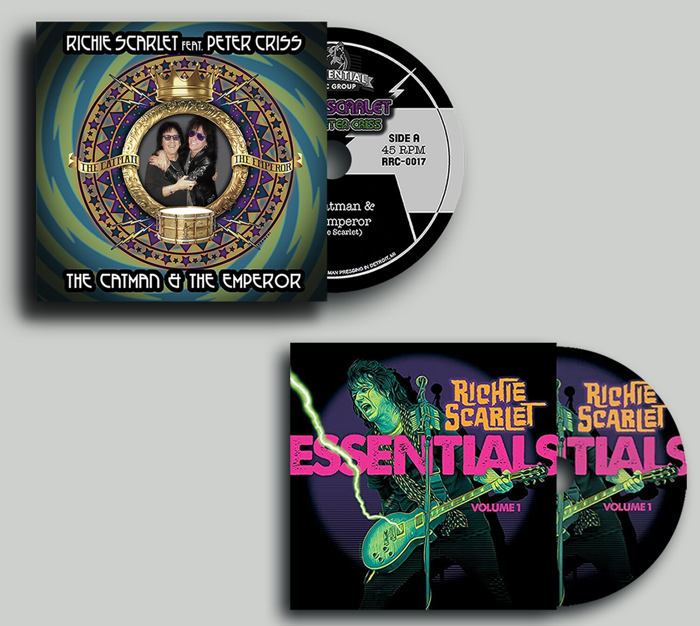 "Richie Scarlet Feat. Peter Criss ""The Catman & The Emperor"" - CD Bundle"