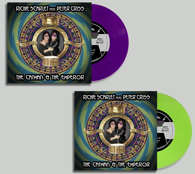 """Richie Scarlet Feat. Peter Criss """"The Catman & The Emperor"""" - Vinyl Bundle (PRE-ORDER)"""