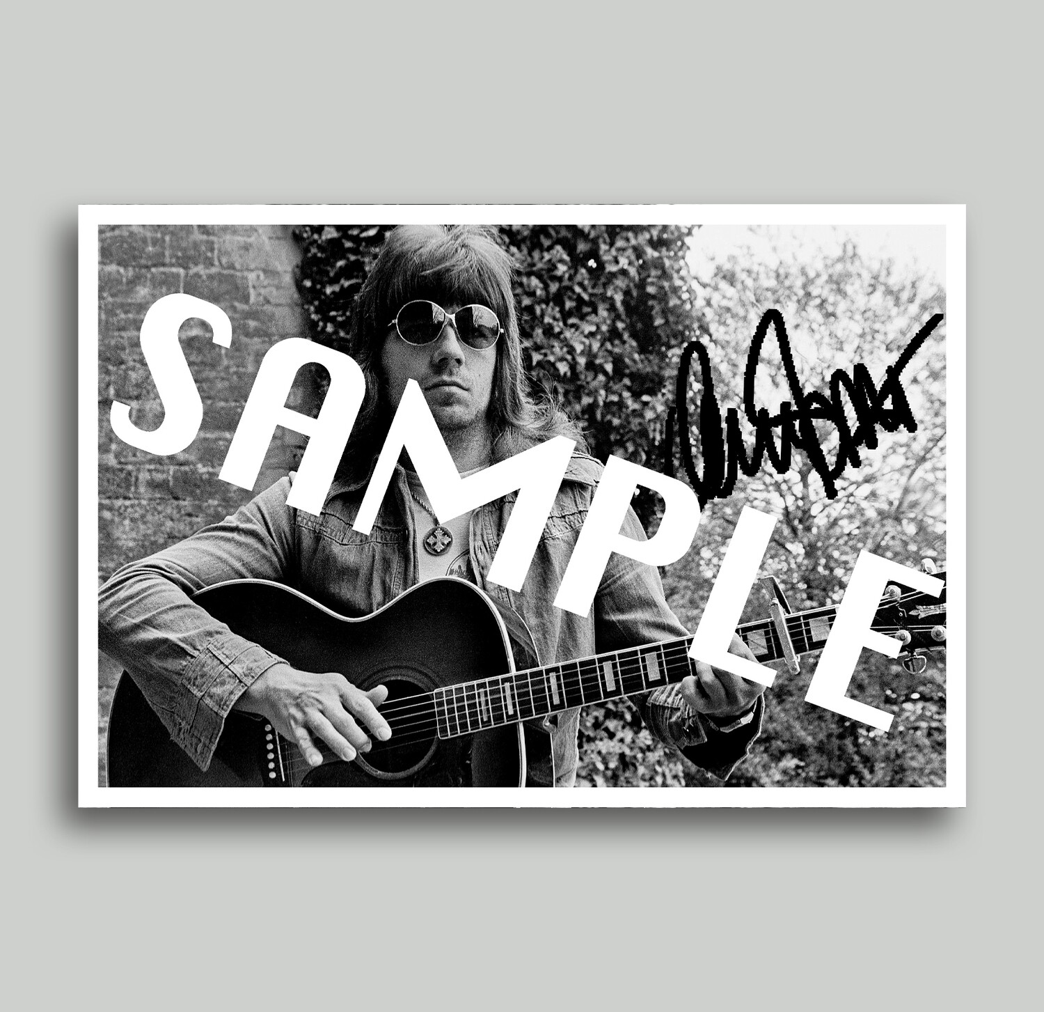 Personalized Signed Photo By Andy Scott (Limited of 100) - PRE-ORDER