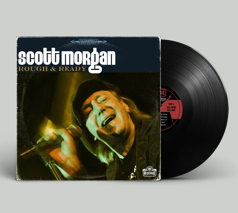"""Scott Morgan """"Rough & Ready"""" -- Vinyl"""