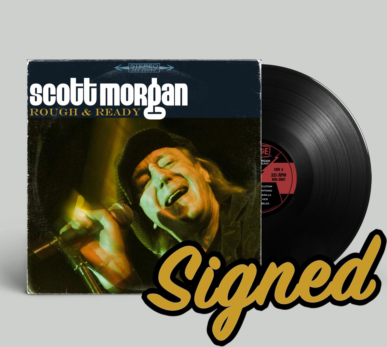 "Scott Morgan ""Rough & Ready"" -- SIGNED Vinyl"