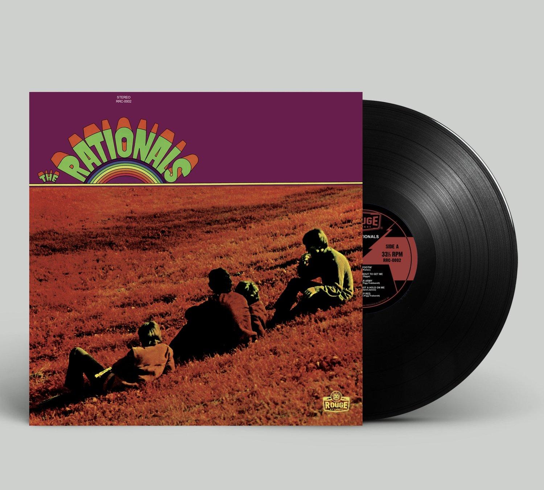 """The Rationals """"The Rationals LP"""" -- Vinyl"""