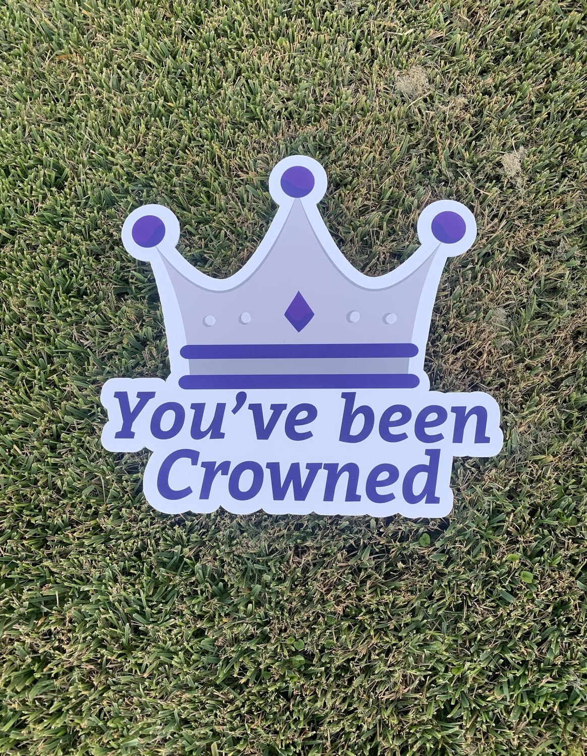 """Royal Love"" Yard Crowning"