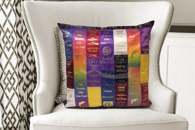 Ribbon Pillow - The Athlete