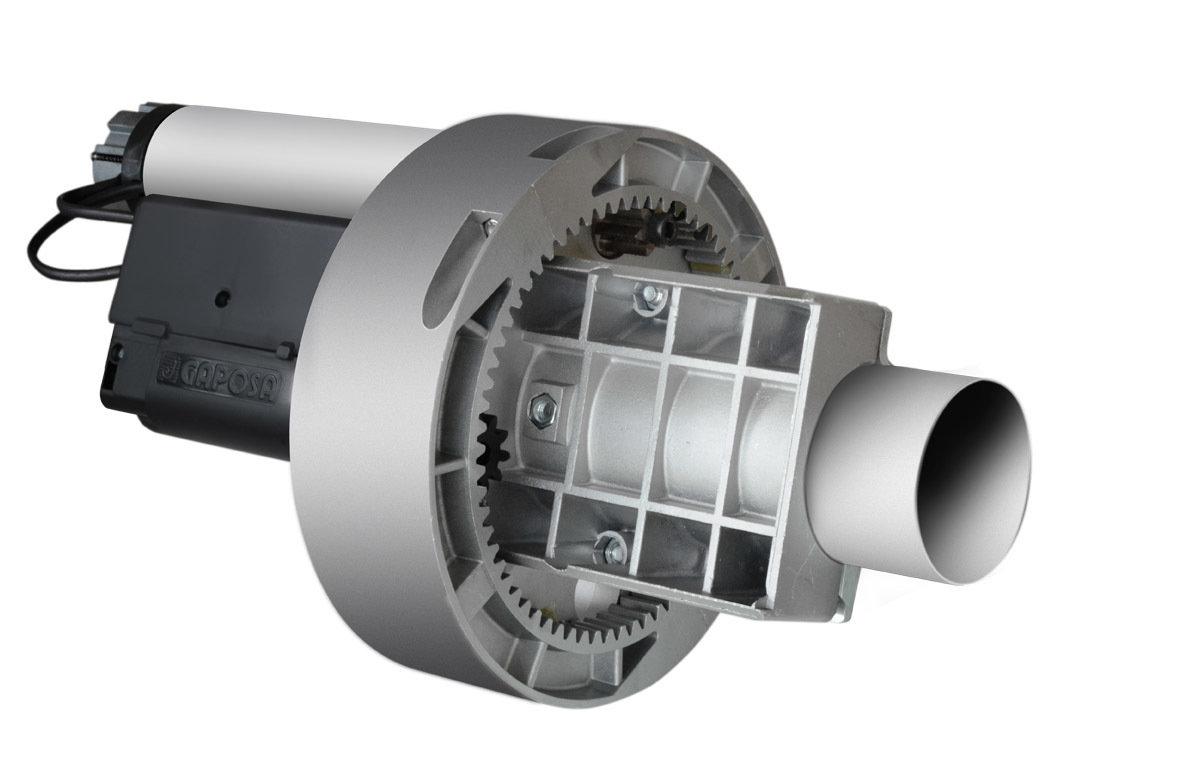 Moteur central Gaposa SQ 190 pour Rideaux et Grilles - Axe 76 mm