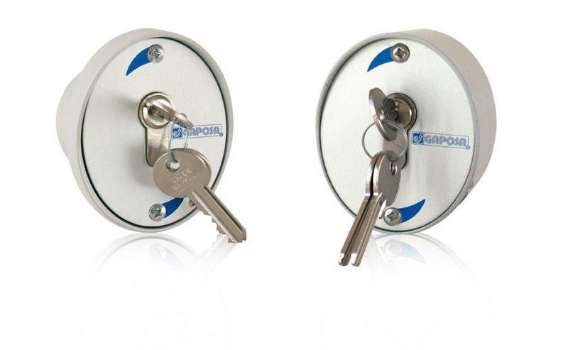 Boite à clés en applique pour Rideaux  Grilles  et portes de Garages