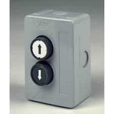 Boite à boutons industrielle 2 boutons pour rideaux et grilles : ACP2