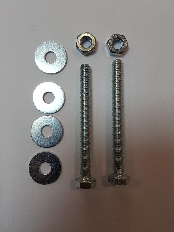 Kit visserie pour axe compensé de rideau- Axe 48 ou 60 mm