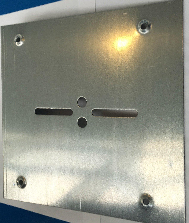 Plaque d'enroulement 370 mm pour rideau à axe compensé