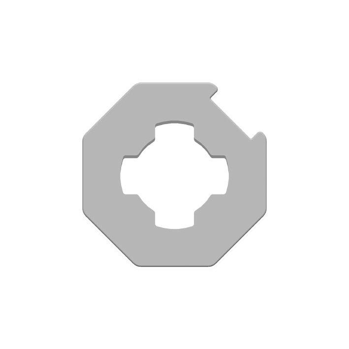 Kit adaptation moteur pour tube Octo 40 mm GAPOSA XQ4 : AXOS4