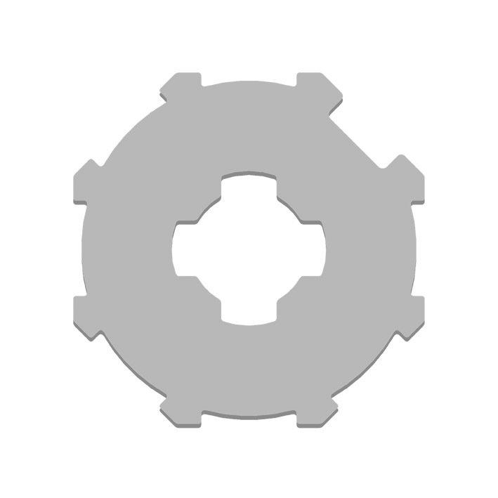 Kit adaptation moteur pour tube Octo 70 mm GAPOSA XQ5 : AX067