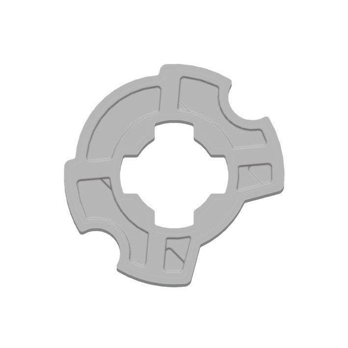 Kit adaptation moteur pour tube ZF 64 mm GAPOSA XQ5