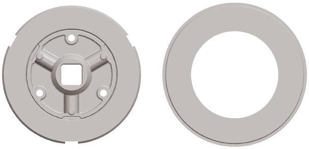Adaptation moteur Gaposa Serie 80 pour tube rond 159*4.5 mm