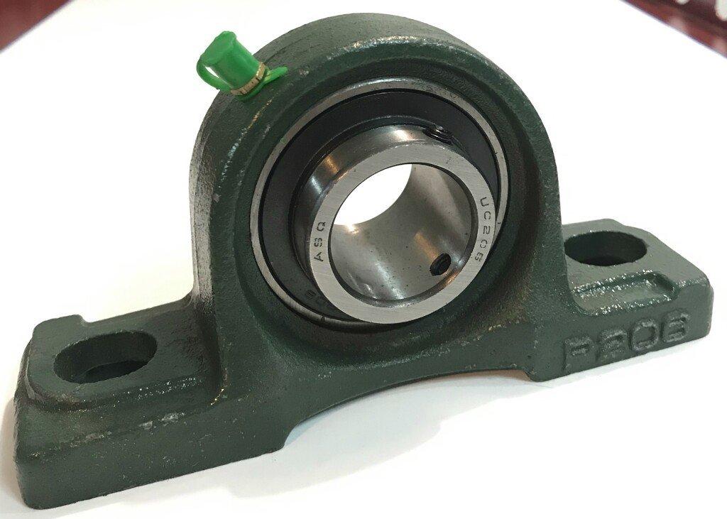 Palier Diamètre 30 mm avec semelle pour pose sur console