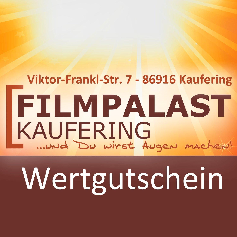Wertgutschein im Filmpalast Geschenkumschlag