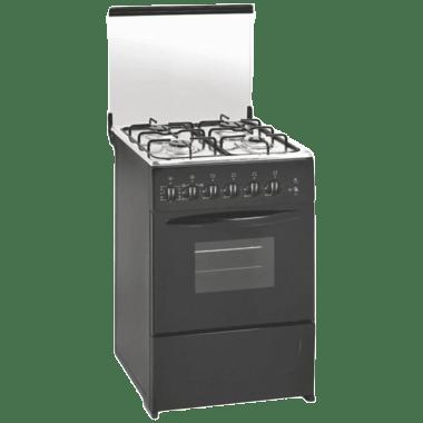 Elica F3402 Ngrb 4 Burners Cooking Range (Black)