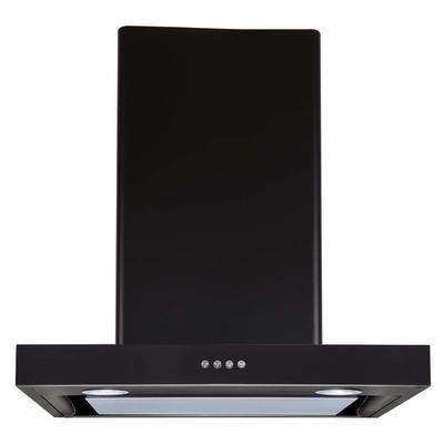 Elica Deep Silent Chimney with EDS3 Technology (Spot NG EDS LTW PB LED, Black)