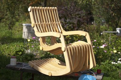 Кресло-качалка Massaging Message