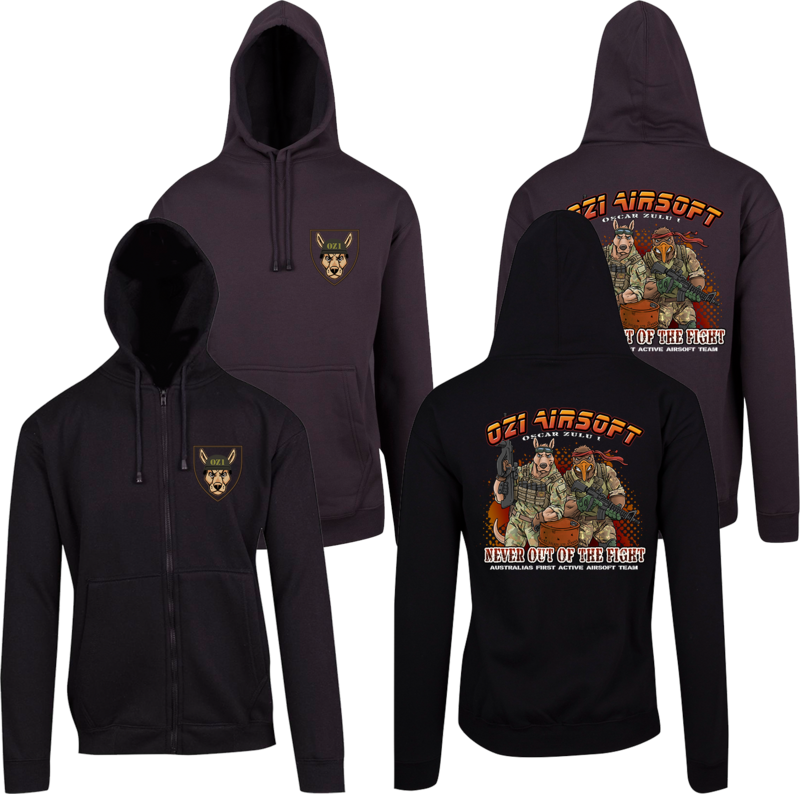 Preorder - OZ1 Airsoft Limited Edition Hoodie