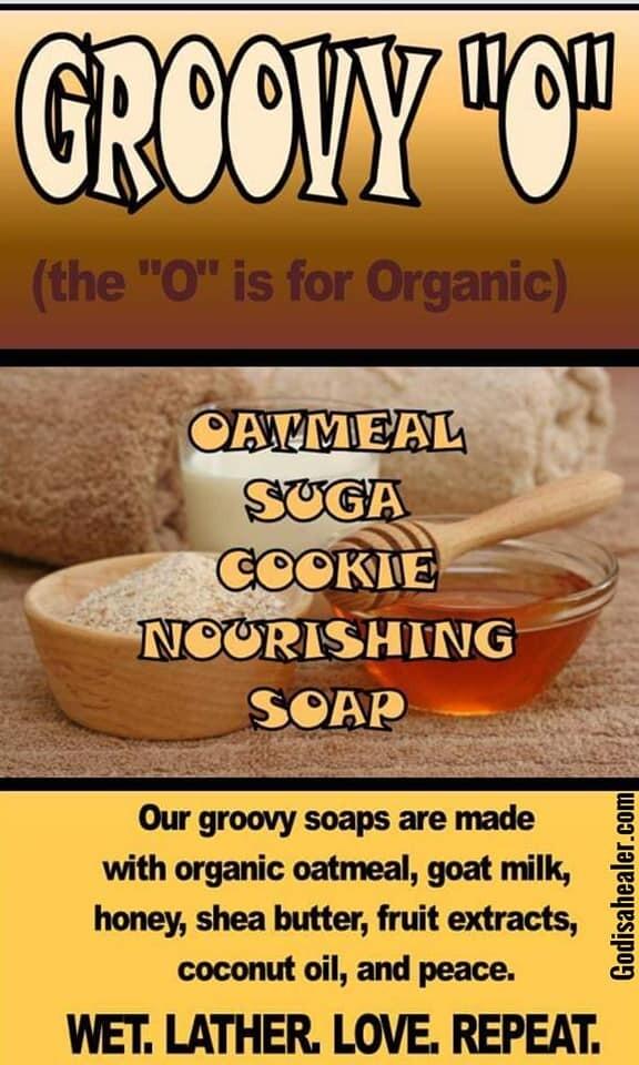 Soap OATMEAL  SUGA COOKIE ORGANIC SOAP