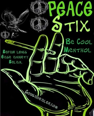 Peace Stix Menthol 12pack Perfect alternative to smoking tobacco with nicotine.