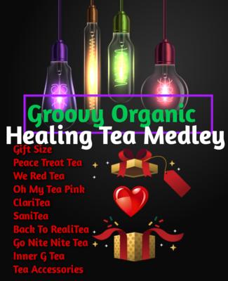 Big Healing Tea Sampler Gift Basket