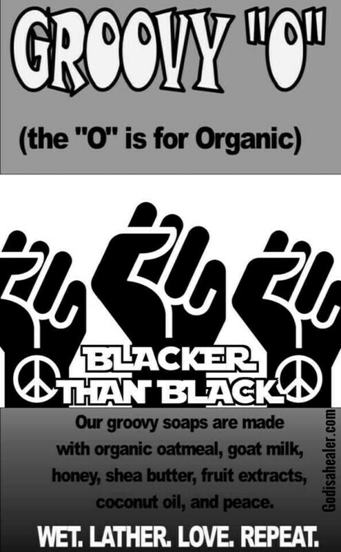 Soap Blacker Than Black Tumeric and Activated Charcoal Organic Soap
