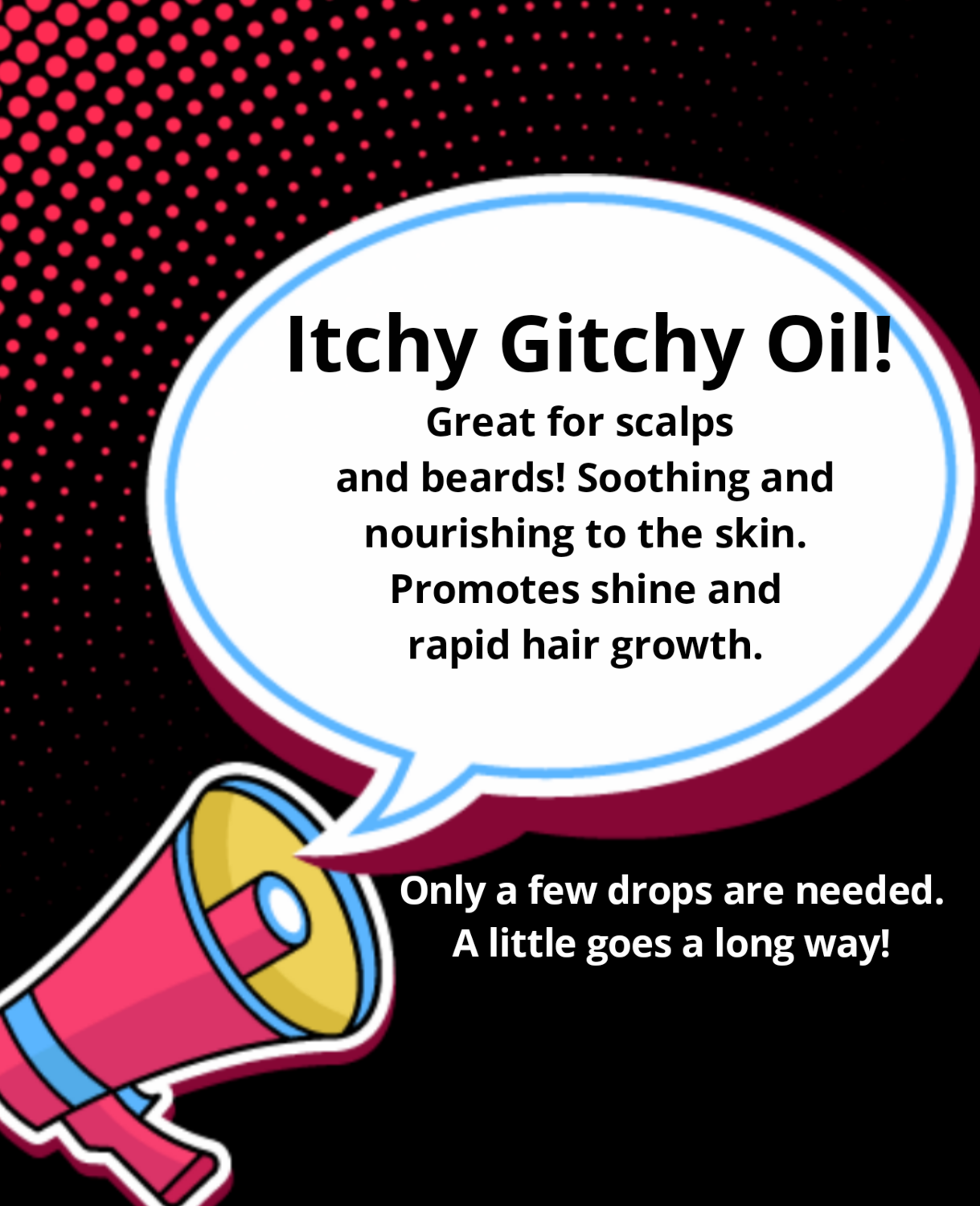 Itchy Gitchy Cooling scalp drops