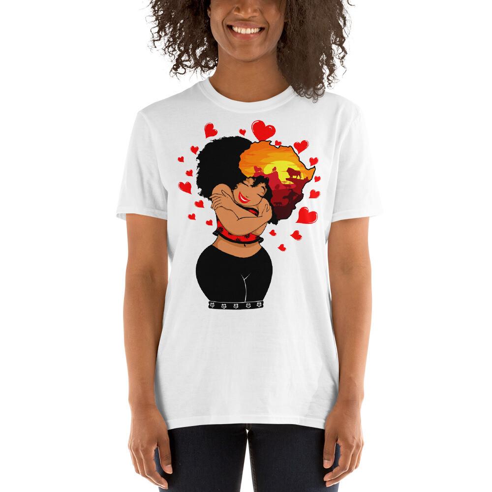Short-Sleeve Thick Queen Unisex T-Shirt