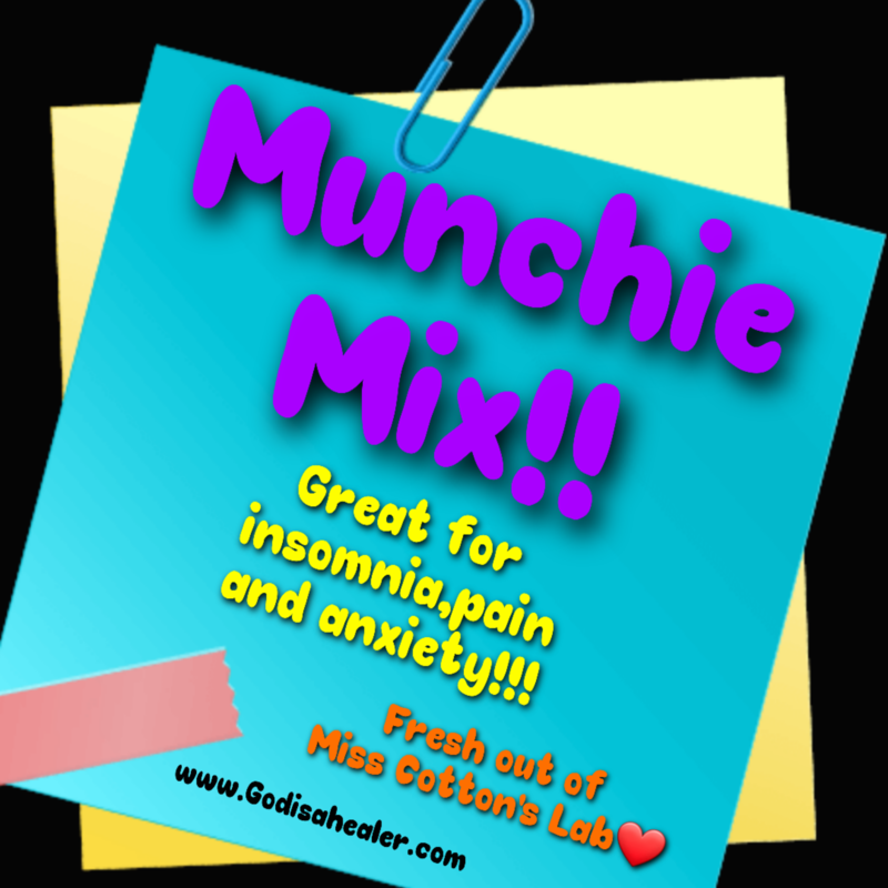 Eddie Bull's Medibles Anti Anxiety Munchie Mix