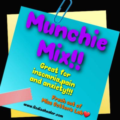 Eddie Bull's Medibles Anti Anxiety Munchie Mix  ( very high Cbd content!)