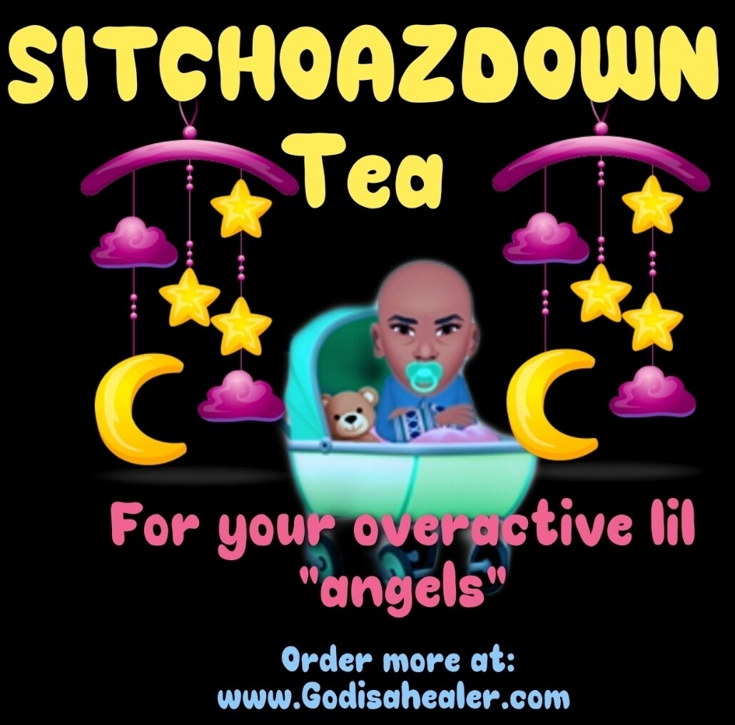 (SITCHOAZDOWN Tea) 1 large gallon  bag.                    make one gallon per bag