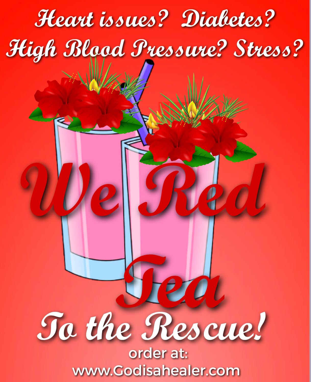 (We RedTea)  One Gallon Tea bag Anti inflammatory benefits. Controls diabetes. Improves heart functions.