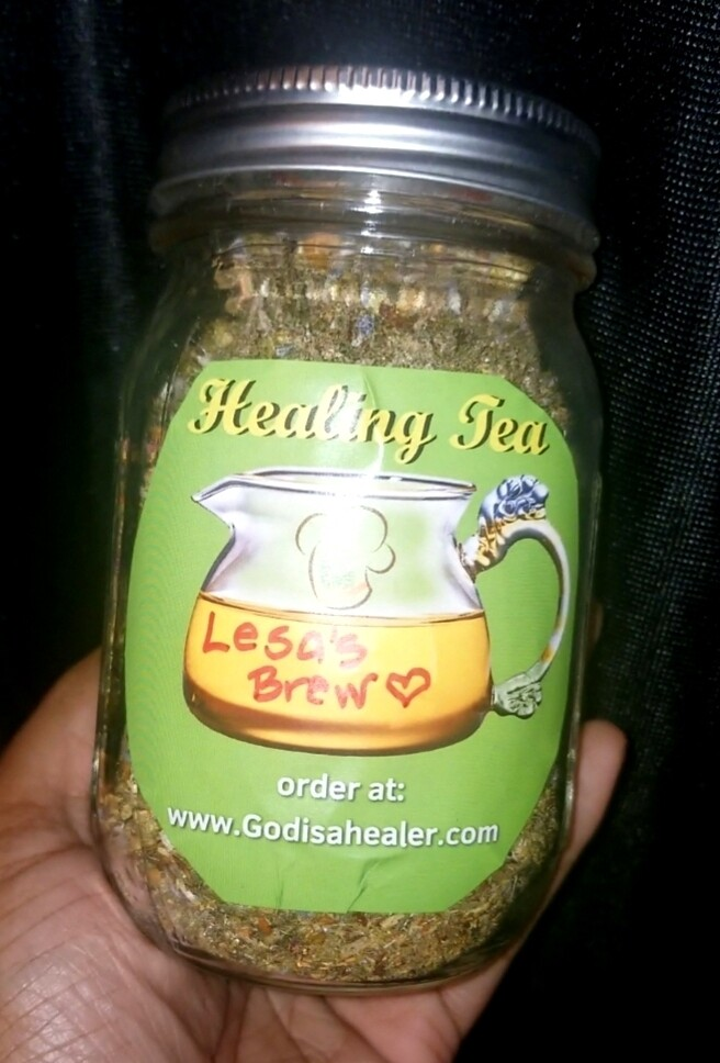 Super Big Tea Jar For my serious tea sippers! Wanna drink by the cup? I got you!!!  A Mason jar full of rich deliciousness with 20 teabags included.Triple the herbs! Choose your own mix!