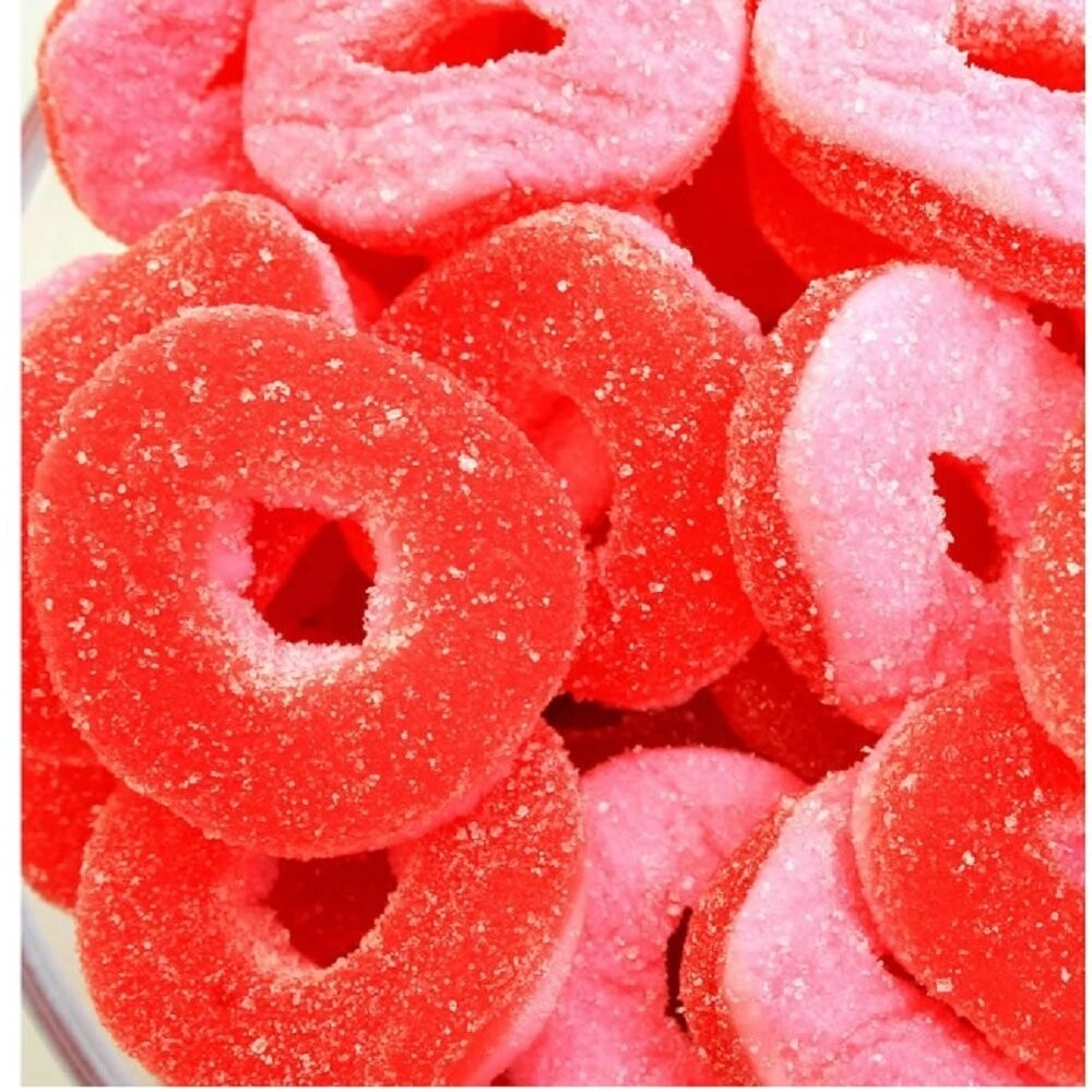 Eddie Bull's Medibles Gummy Watermelon Rings for Pain and Anxiety (2)