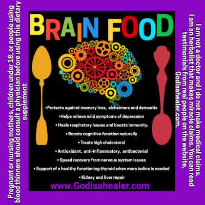 Brain Food (30 capsules)