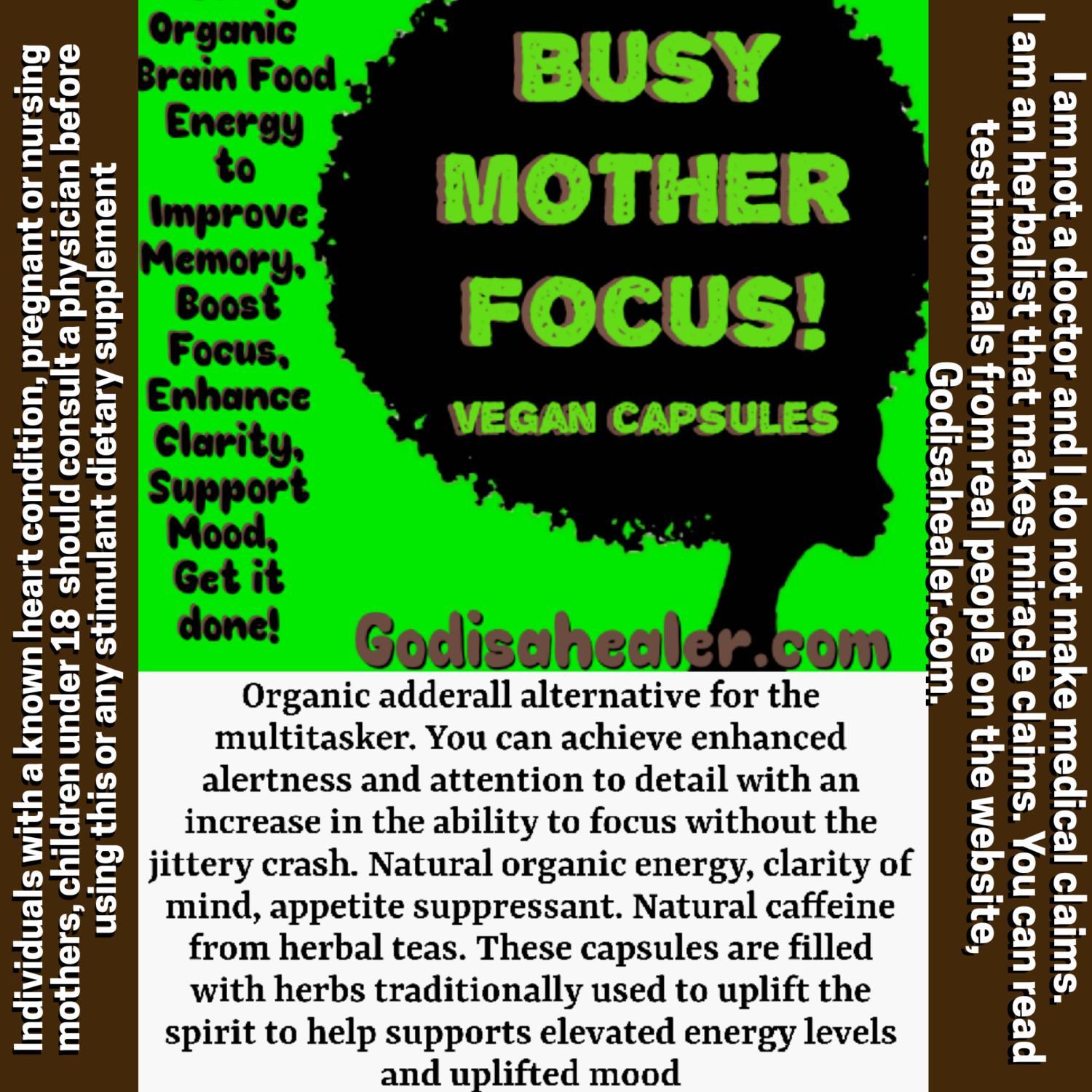 Busy Mother Focus 30 capsules