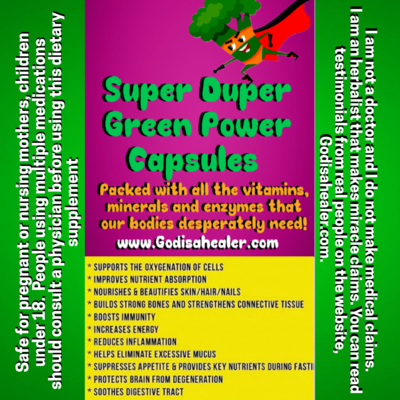 Super Duper Green Power 30 capsules